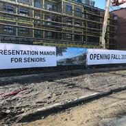Hoarding Banner Sign