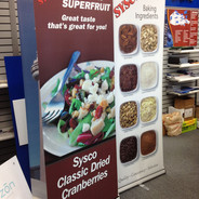 One-Sided Banner Stand