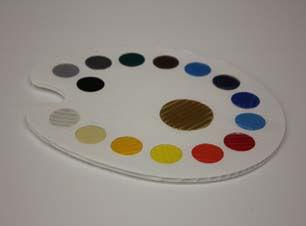 Colored Coroplast