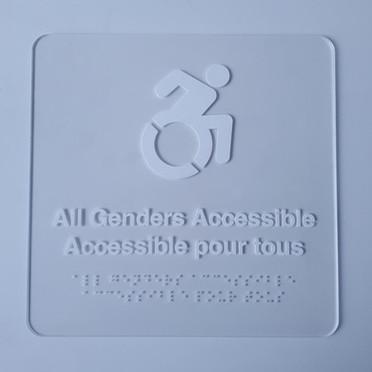 Braille sign