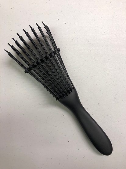 Flexible Brush for Textured or Curly Hair