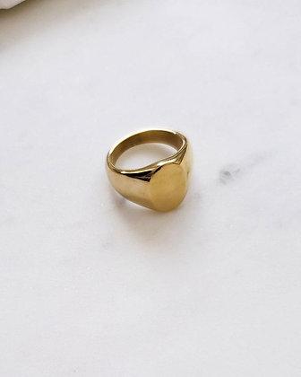 Pablo Signet Ring Gold