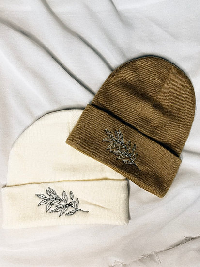 Linay Embroidered Beanie