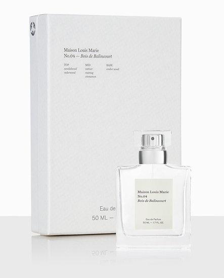 Eau de Parfum No. 04 Bois de Balincourt