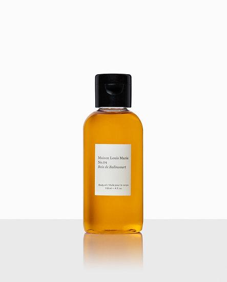 Body Oil No. 04 Bois de Balincourt