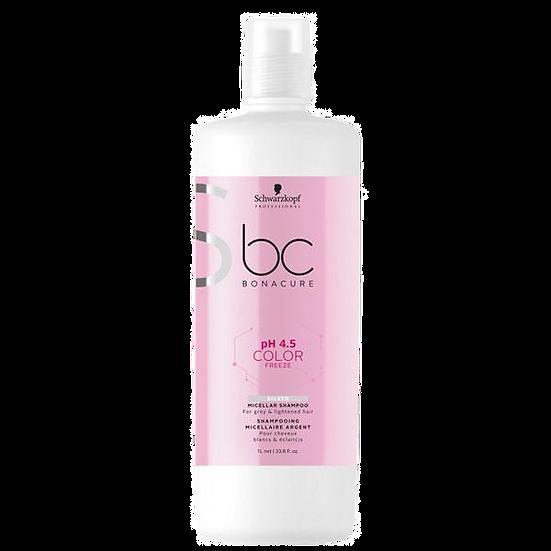 Bonacure Color Freeze Silver Shampoo Litre