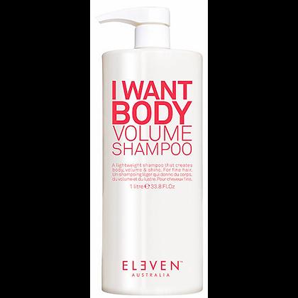 I Want Body Shampoo Litre