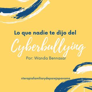 Lo que nadie te dijo del Cyberbullying