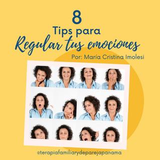 Tips para regular tus emociones