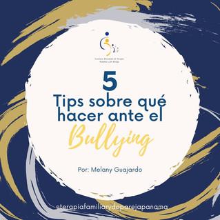 5 Tips sobre qué hacer ante el Bullying