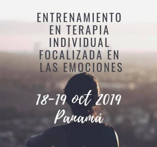 Entrenamiento en Terapia Individual Focalizada en las Emociones (EFIT)