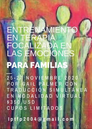 Primer entrenamiento en Terapia Familiar Focalizada en las Emociones (EFFT) en Latinoamérica