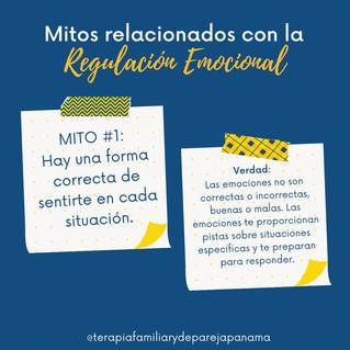 Mitos relacionados con la regulación emocional