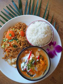 Combo: Panang Curry