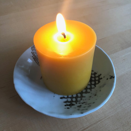 """4"""" Pillar Candle - New WR&S product!"""
