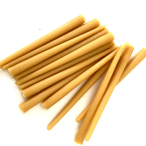 """10"""" Pure Beeswax Tapers"""
