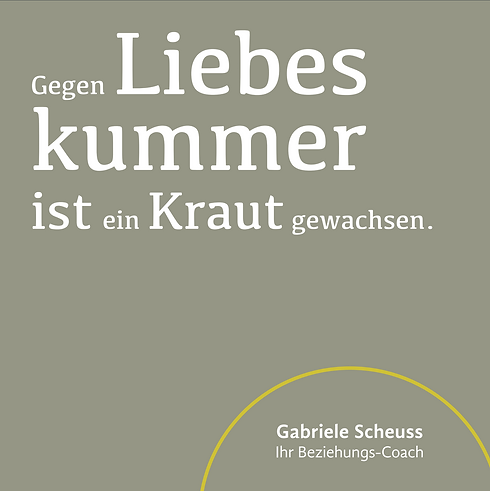Gabriele Scheuss gegen Liebeskummer ist ein Kraut gewachsen