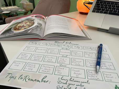 10 Tips to successful meal planning: Includes downloadable meal planner