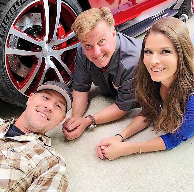Adrienne Janic  AJ Janic  JP Emerson  jpemerson.com  Overhaulin Motortrend Chris Jacobs  Chip Foose