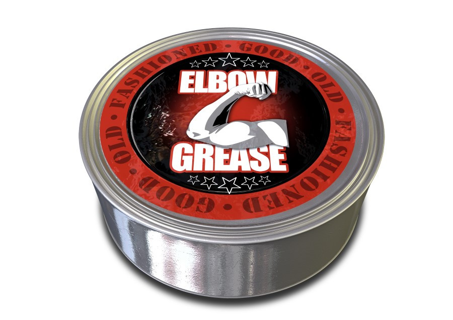 Old fashioned elbow grease