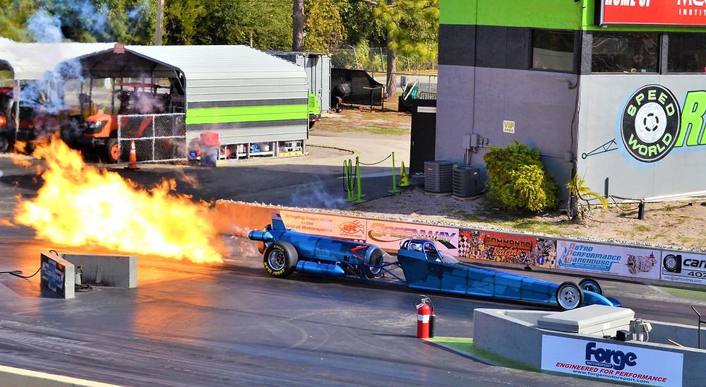 Kat Redner  JP Emerson  JPemerson.com  The JP Emerson Show jet car  racing