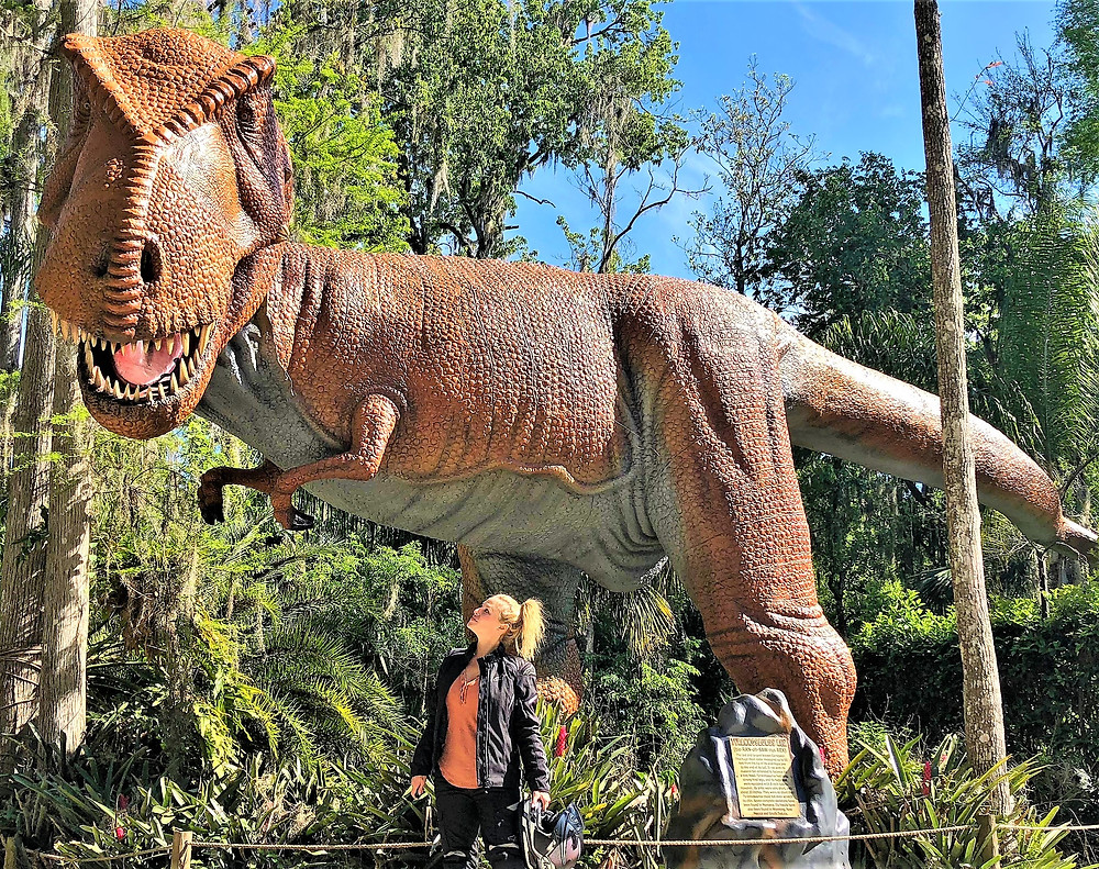 Cristy Lee  JP Emerson  Dinosaur world  T Rex  Dinosaur