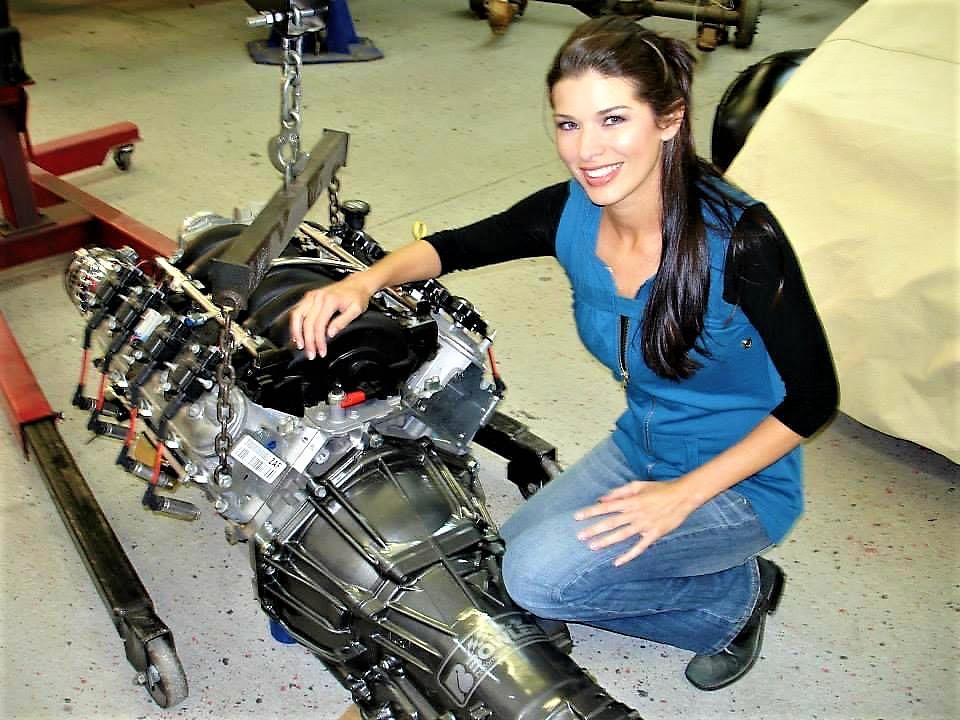 Adrienne Janic  AJ Janic  JP Emerson  jpemerson.com  Overhaulin Motortrend