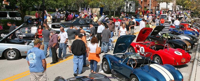 Classic car show Ford chevrolet mopar pontiac porsche