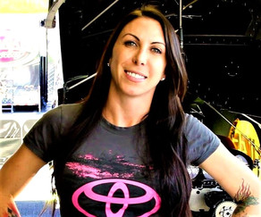Alexis Dejoria is Driven to Win on and off the Track
