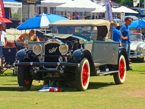 SHRINERS HOSPITAL FOR CHILDREN TAKES TOP PRIZE AT INAUGURAL GASPARILLA CONCOURS D'ELEGANCE