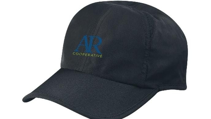 AR Cooperative runner's cap - black