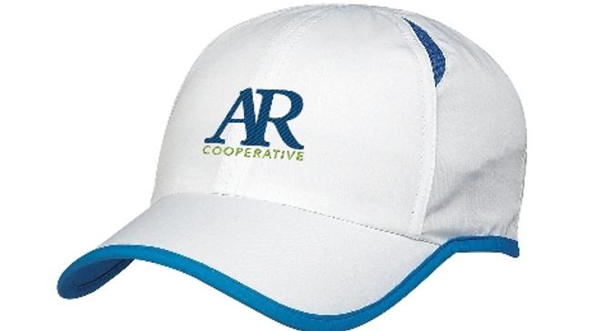AR Cooperative runner's cap - white
