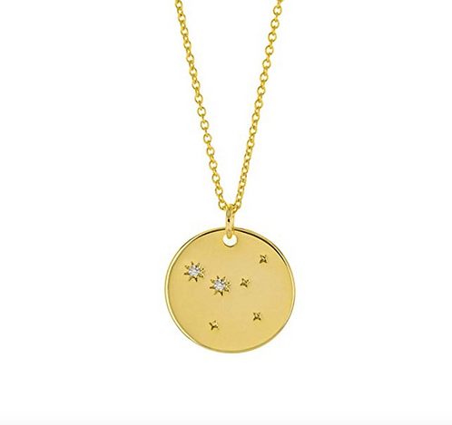 Constellation Zodiac Sign Necklace - Cancer