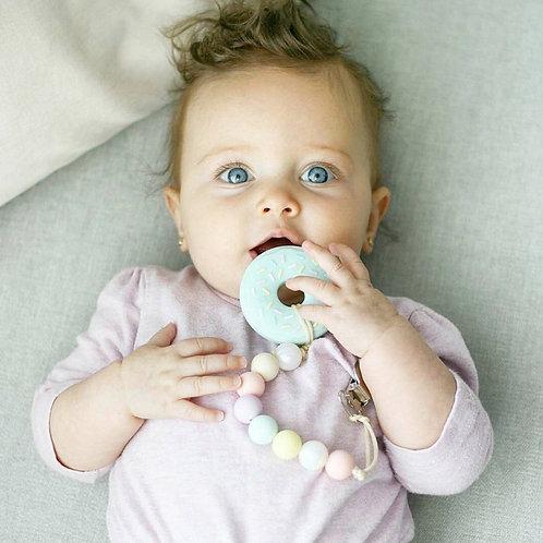 """Baby Beißring """"Donut"""" - Mint"""