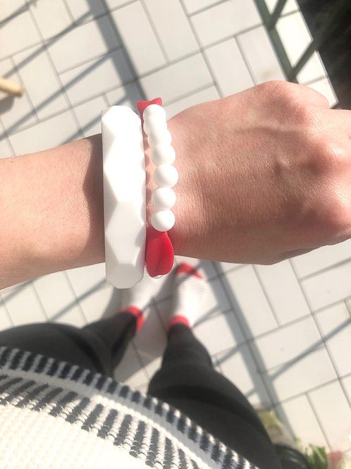 Silikon Mama Armband MYLA - Rot