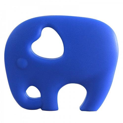 Jouet de Dentition Non Toxique ELEPHANT - Bleu Marine