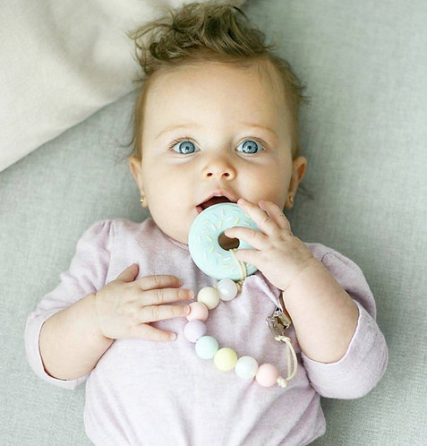 Baby Teether DONUT - Mint