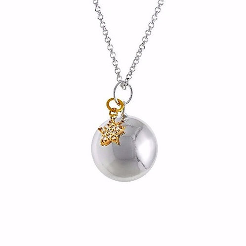 Pregnancy Chime Necklace - SHINING STAR