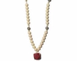 Teething Necklace Bali - Ruby