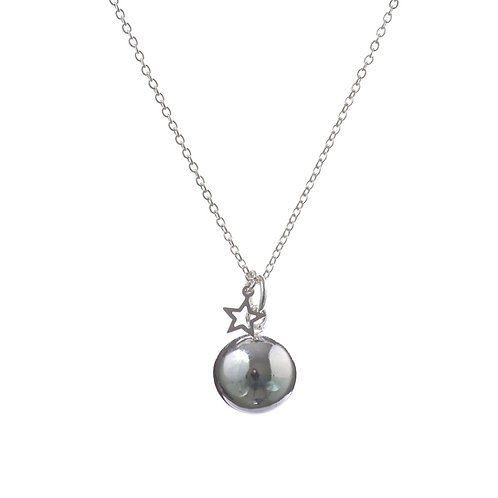 Pregnancy Chime Necklace ANGEL CALLER - Silver