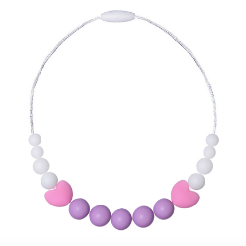 Collier de Dentition LITTLE DIVA - Violet