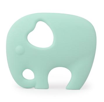 Gioco Massaggiagengive in Silicone - Elefante Mint