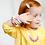 """Thumbnail: Armkette Stillarmband """"Little Diva"""" - Yellow"""