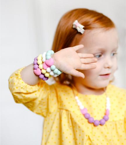 """Children Bracelet """"Little Diva"""" - Snow"""
