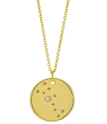 Constellation Zodiac Sign Necklace - Taurus