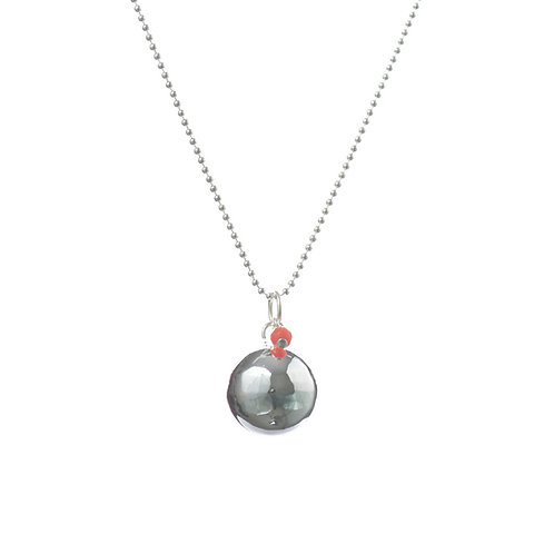 Angel Caller Pregnancy Necklace BABY PEARL - Coral