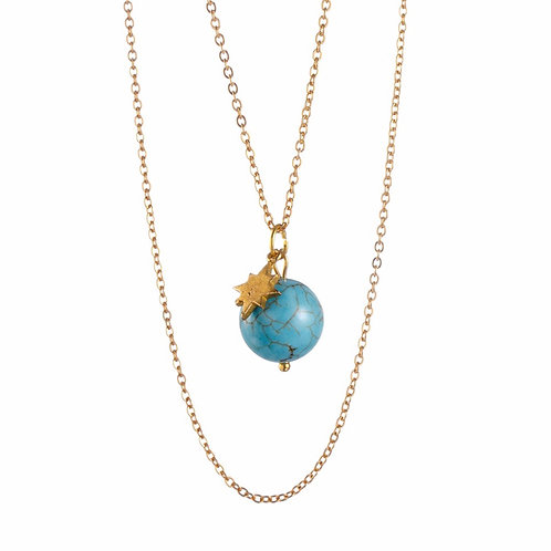 WILD MOON Necklace ☾ - Turquoise