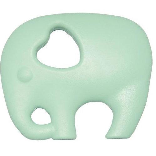 "Silikon Beißspielzeug ""Elefant"" - Mint"