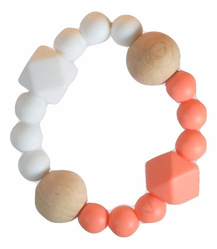 Teething Bracelet NANA - Coral