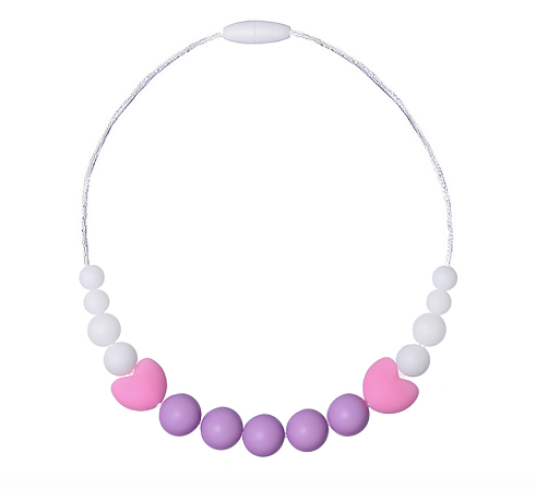 "Children Necklace ""Little Diva"" Violet"